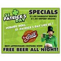 Full Color St Patrick's Paper Placemats