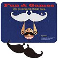 Mustache Pop-Out Coasters