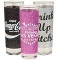 2 oz. Glitter Double Shot Glasses