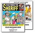 Police & Fire Safety Coloring Books