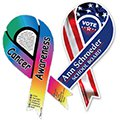 "3-7/8"" x 8"" Full Color Ribbon Car Sign Magnets"
