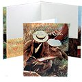 "9"" x 12"" Premium Reinforced Full Color Folders, Two Pockets"