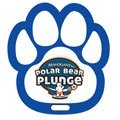 Full Color Paw Shaped Luggage Tags