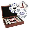 200 Foil Stamped Chip Poker Set