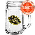 16 oz. Glass Mason Mug with Handle