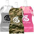 16.9 oz. Wave Collapsible Water Bottle