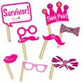 Breast Cancer Awareness Selfie Kit Hand Fans