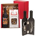Bordeaux Wine Tool & Popcorn Gift Sets