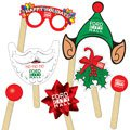 Holiday Selfie Kit Hand Fans