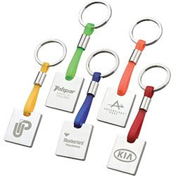 Metal Key Chains, Tinta Keyring
