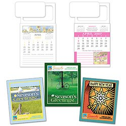 Magnetic Business Card Calendars with Custom Cover