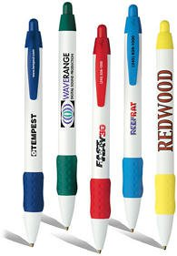 BIC® WideBody Pens with Color Rubber Grip