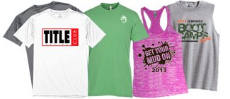 Custom Training T-Shirts  | Custom Athletic Shirts | Wholesale Race T-Shirts