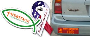 Bumper Sticker Magnets| Vehicle Magnets