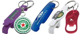 Custom Bottle Opener Keychains