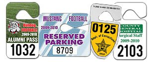 Parking Hang Tags | Custom Hang Tags