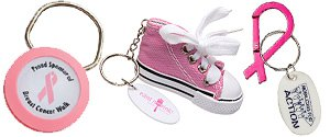 Breast Cancer Awareness Keychains | Awareness Keychains