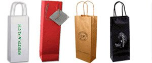 Paper Wine Bags | Personalized Wine Bags
