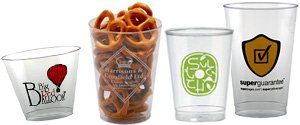 Custom Plastic Cups | Clear Plastic Cups