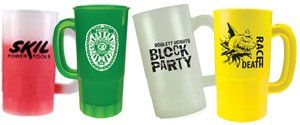 Disposable Beer Steins | Personalized Plastic Steins