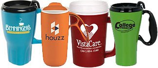 Insulated Travel Mugs | Custom Plastic Travel Mugs