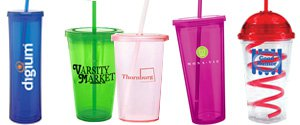 Tumblers with Straws | Personalized Tumblers with Straws