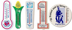 Recycled Plastic Thermometers
