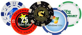 Custom Personalized Poker Chips | PrintGlobe