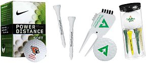 Customized Golf Tee Packs | Logo Golf Balls