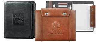 Personalized Leather Padfolios | Custom Leather Padfolios