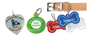 Custom Pet Tags | Reflective Pet Tags