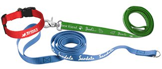 Custom Dog Leashes | Slip Leashes | Printed Dog Collars