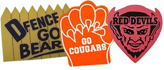 Custom Foam Mitts | Foam Fan Shapes | Mascot Foam Shapes