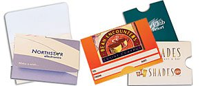 Custom Gift Card Holders | Gift Card Envelopes