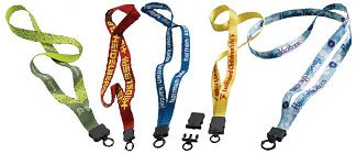 Trade Show Lanyards | Custom Nylon Lanyards | Printed Cotton Lanyards