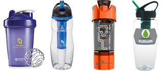 Water Bottles with Filters | Custom Blender Bottles