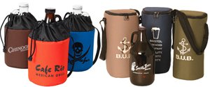 Growler Cooler | Custom  Growler Carriers