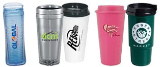 Plastic Travel Tumblers | Plastic Coffee Travel Mugs