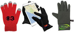 Touch Screen Gloves, Custom Touchscreen Gloves