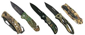 Camo Knives | Camo Pocket Knives | Personalized Camo Knives
