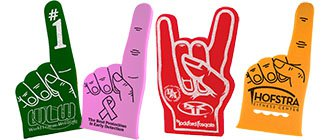 Custom Foam Fingers | Foam Hands | Foam Spirit Hands