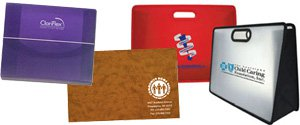 Plastic Document Holders