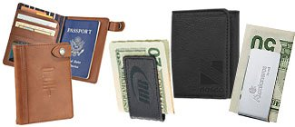 Engraved Money Clips | Custom Leather Wallets