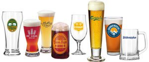 Personalized Beer Glasses | Custom Pilsner Glasses | Belgian Beer Glasses