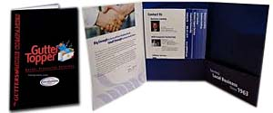 Three Panel Folders | Custom Printed Tri-Panel Folders