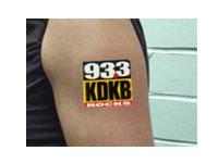"1.5"" x 1.5"" Temporary Tattoos"