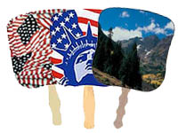 Patriotic Hand Fans