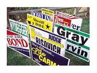Poly-Bag Yard Signs
