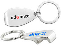 Deluxe Metal Bottle Opener Keychains