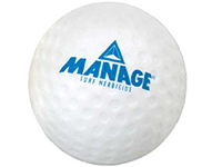 Golf Ball Shaped Stress Balls